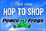 Hop to Shop PeaceFrogs